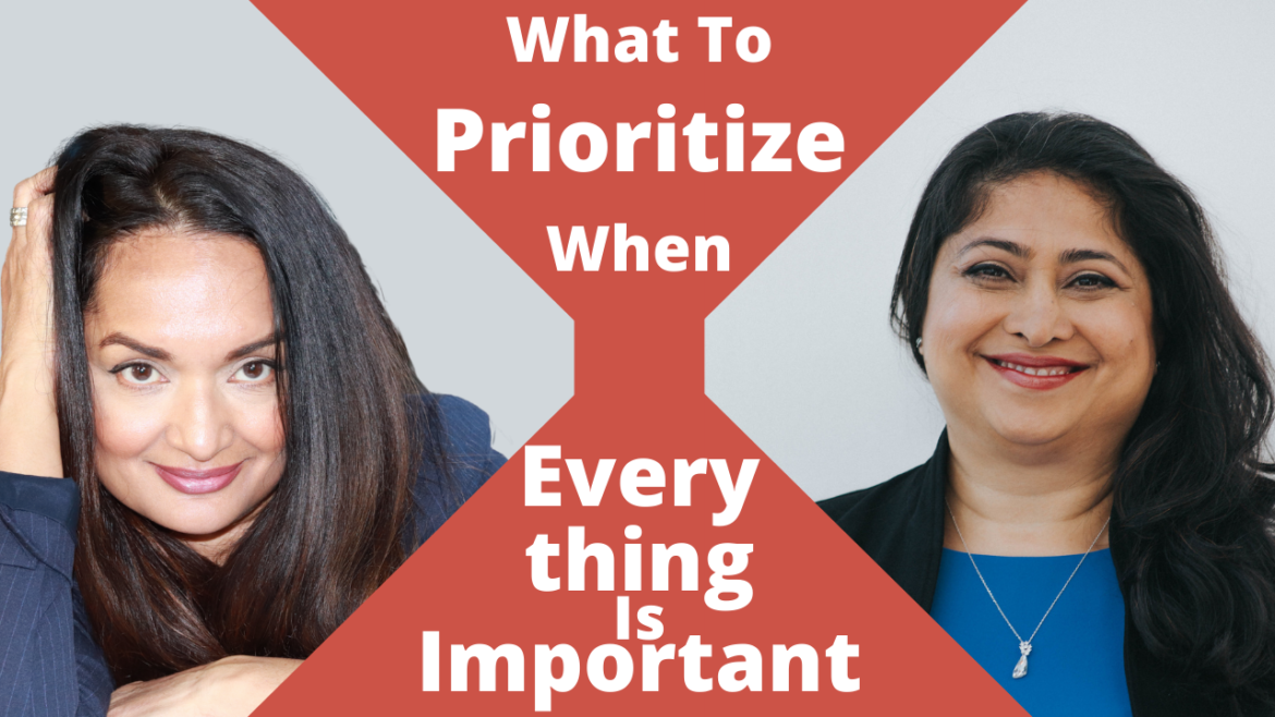 Prioritize When Everything is Important;